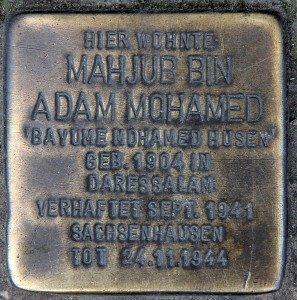 Stein zur Erinnerung an Mahjub Husen