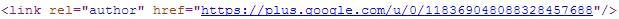 rel=author auf wilkosteffens.de im HTML-Code