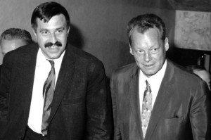 Günter Grass und Willy Brandt