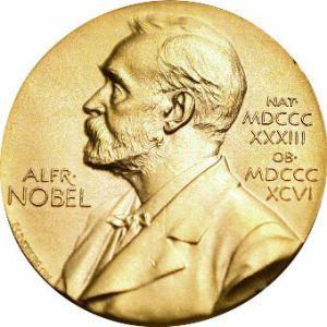 Medaille des Nobelpreises für Literatur