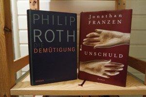 """Jonathen Franzen: """"Unschuld"""", Philip Roth: """"Die Demütigung"""""""