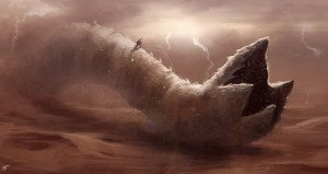 Shai-Hulud, der Sandwurm von Arrakis