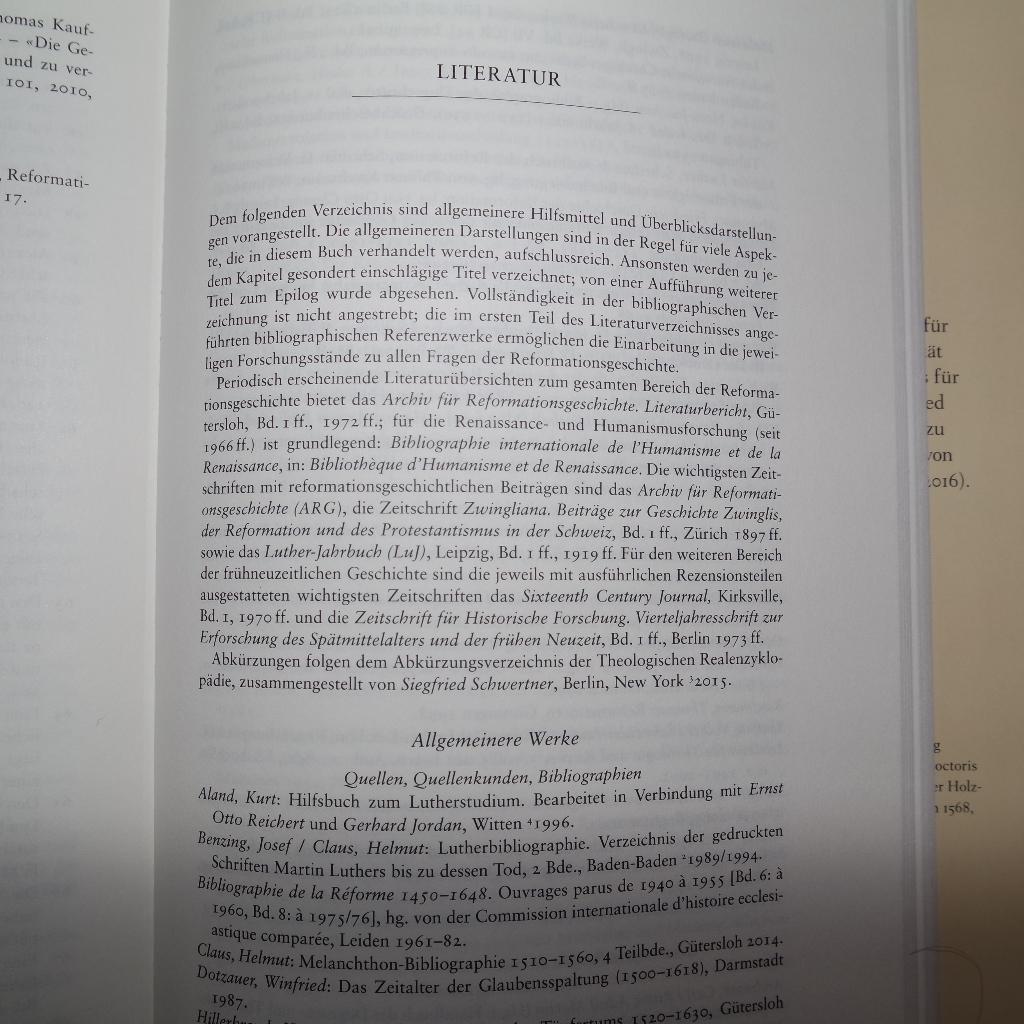Literaturverzeichnis von Thomas Kaufmanns Erlöste und Verdammte