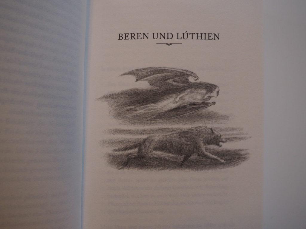 J. R. R. Tolkien: Beren und Lúthien Textgeschichte